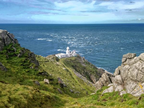 The North Light from the cliffs above © Mandy Dee